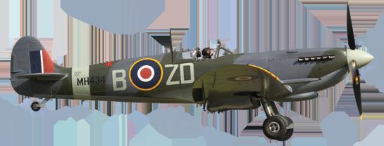 spitfire-flying