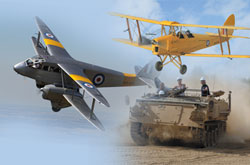tigers and tracks action day at Duxford